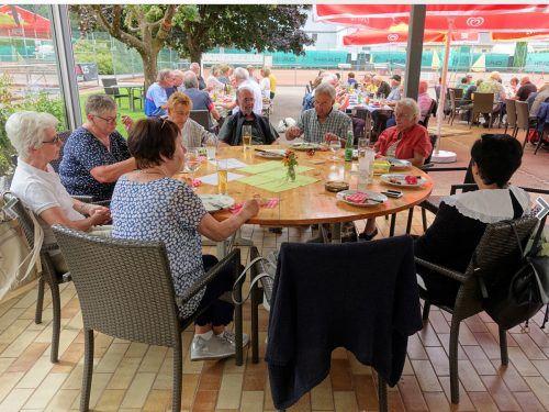 Grillfest des Seniorenbundes Feldkirch.Seniorenbund Feldkirch