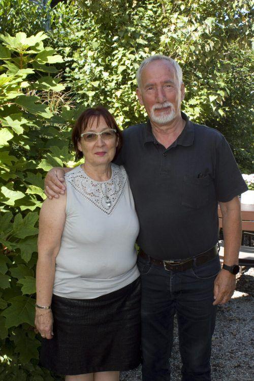 Heidi und Franz Reiner genossen die Lesung.