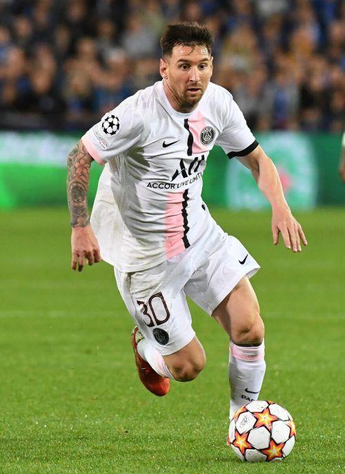 Hinter dem Einsatz von Lionel Messi steht noch ein Fragezeichen.ap