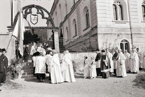 Hohenweiler, Kloster Mariastein, 1969