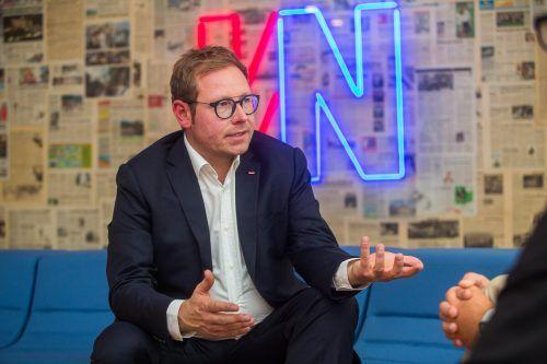 """""""Ich wünsche mir, dass die Politik die Rufe des ORF hört und dem ORF ein zeitgemäßes Dasein ermöglicht"""", sagt Klement.VN"""