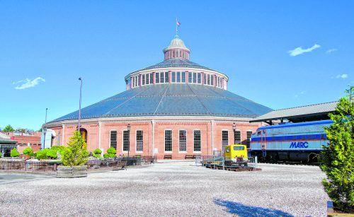 Im Baltimore and Ohio Railroad Museum findet sich die umfangreichste Sammlung amerikanischer Schienenfahrzeuge.