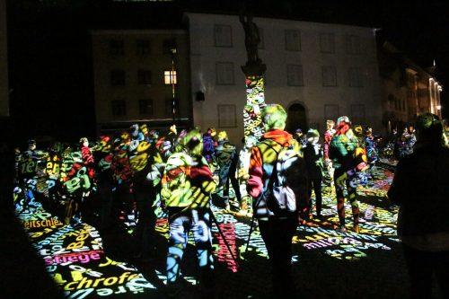 Im Jahr 2018 wurde Feldkirch erstmals zur Lichtstadt. Von 6. bis 9. Oktober verwandeln Künstler die Altstadt wieder in ein leuchtendes Freilichtmuseum.