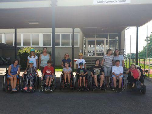 Im Rahmen des Leiblachtaler Ferienprogramms fand ein Rollstuhlsensibilisierungs-Workshop für Kinder statt.ÖZIV-LV Vorarlberg