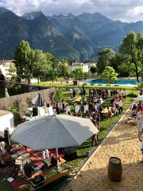 Im Val Blu kommt noch einmal Sommerstimmung auf. Stadtmarketing
