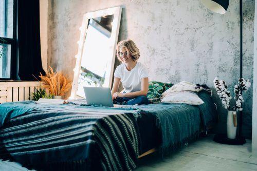 Individualität und Lifestyle ist auch beim Schlafzimmer angesagt. Shutterstock