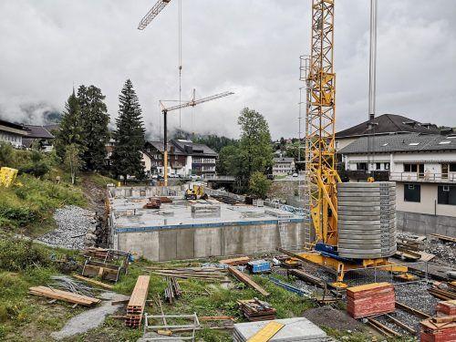 Das Fünf-Millionen-Euro-Projekt in Egg soll bis zum Herbst im kommenden Jahr abgeschlossen werden. me