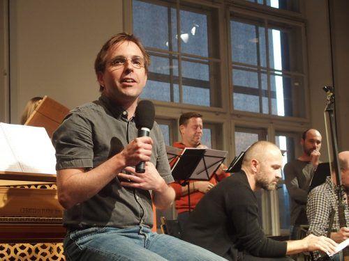 Johannes Hämmerle hat das Projekt dieses Mal geleitet.