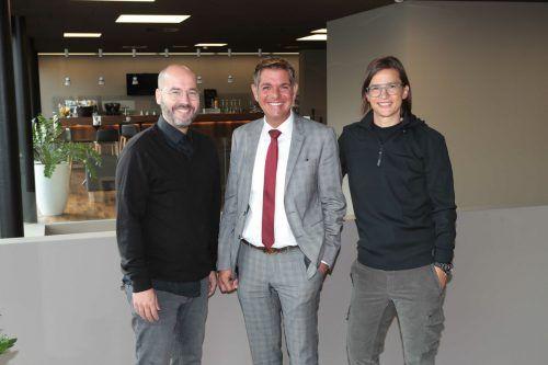 Johannes Nussbaumer, Günter Ender und Martin Berchtold.