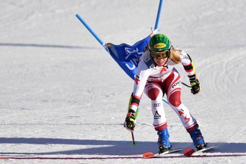 Katharina Liensberger kommt auch in dieser Saison in den Genuss eines Weltcupbewerbs in ihrer Heimat.gepa