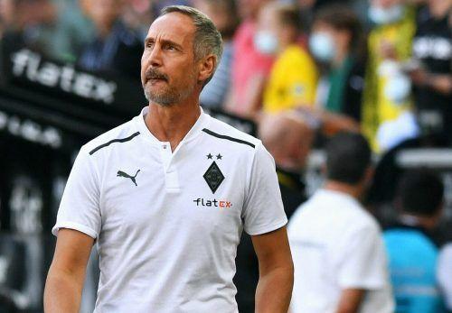 Kein Grund so grimmig zu schauen: Adi Hütter hat im Duell der Borussen Dortmund mit 1:0 besiegt und konnte damit einen kompletten Fehlstart in die Saison vermeiden.apa