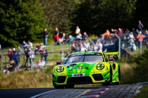 Kévin Estre steuerte den Grello-Porsche am Nürburgring zum Sieg.Jan Brucke/VLN