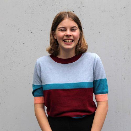 Lina Feurstein war eine der Kreativen, die am Rebell*innenkalender mitgearbeitet hat. AKS Vorarlberg