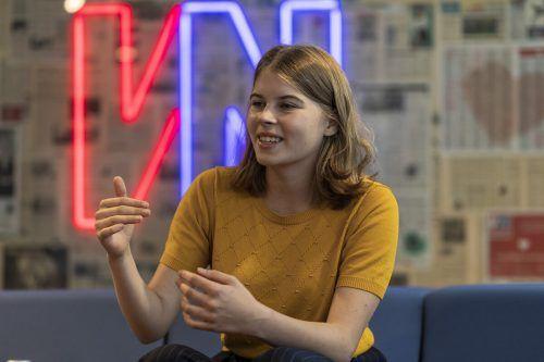 Lina Feurstein ist seit Kurzem die neue Landesschulsprecherin für Schüler an den heimischen Gymnasien. VN/Paulitsch