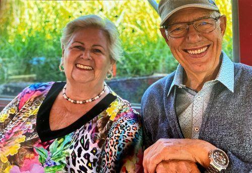 Magda und Klaus Scharax blicken positiv in die Zukunft und genießen jeden Tag. kl