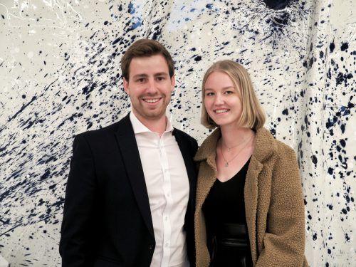 Manuel Beer und Katharina Böhler (Landeswarnzentrale).