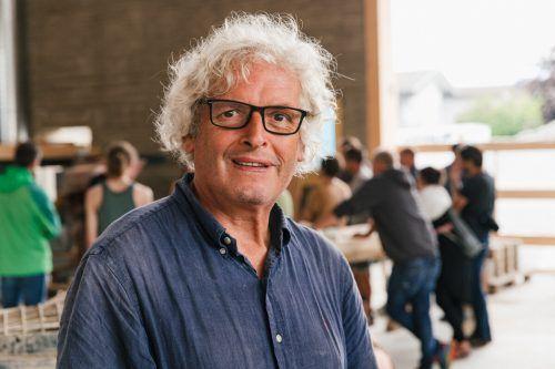 Martin Rauch überzeugte mit dem Lehmbau. FA/mackowitz