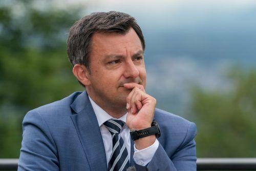 Martin Staudinger. Der Harder Bürgermeister verkündete im VN-Sommergespräch, dass SPÖ-Klubchef Thomas Hopfner ihm als Parteiobmann nachfolgen soll. Zahlreiche Funktionäre fühlten sich von dieser Ankündigung überrumpelt.