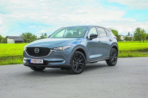 Mazda hat den 4,55 Meter langen CX-5 zum neuen Modelljahr technisch leicht überarbeitet. Neu sind effizientere Antriebe.VN/ps