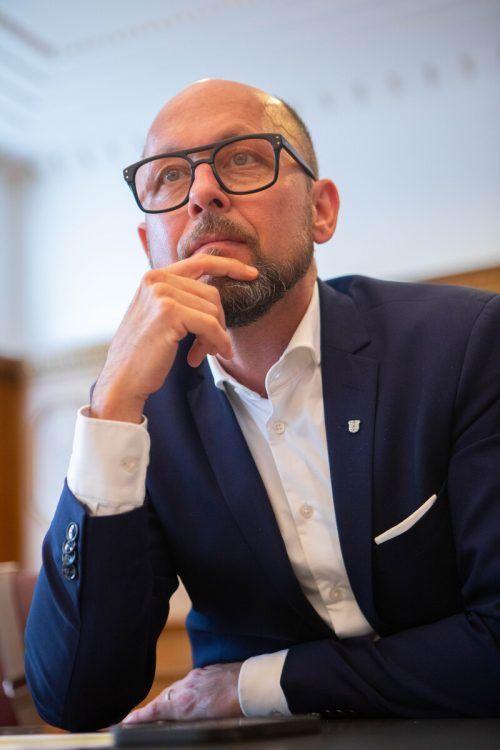 Ritsch verteidige seine Mitarbeiter nur gegen haltlose Vorwürfe. VN/HARtinger