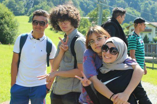 """Mit anderen """"Start""""-Stipendiaten knüpfte die gebürtige Syrerin Freundschaften."""