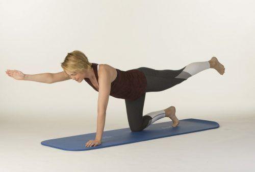 Mit gezielten Übungen den Rücken stärken und damit den Alltagsstress abbauen.Gesunder Rücken ev