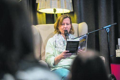Mit ihren Krimis war Marlene Kilga auch in der Buchhandlung Das Buch mit einer Lesung zu Gast. VN/Steurer