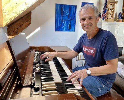 """Musiker Thomas Dür veröffentlichte kürzlich sein siebtes Soloalbum unter dem Titel """"Heart to Heart"""".VN/JS"""