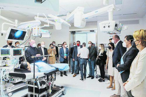 Neue Infrastruktur schafft attraktive Arbeitsbedingungen und optimiert die Versorgung der Patienten. STD
