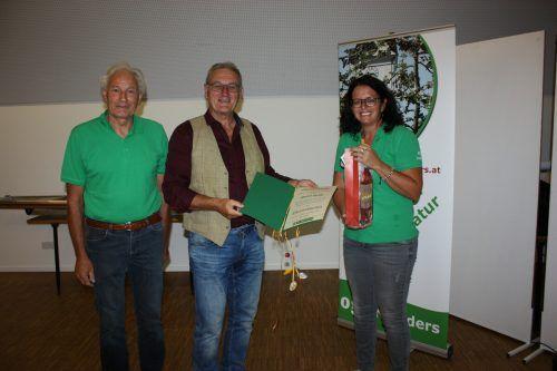 Norbert Carotta wurde im Rahmen der Jahreshauptversammlung des OGV Nüziders zum Ehrenobmann ernannt.OGV Nüziders