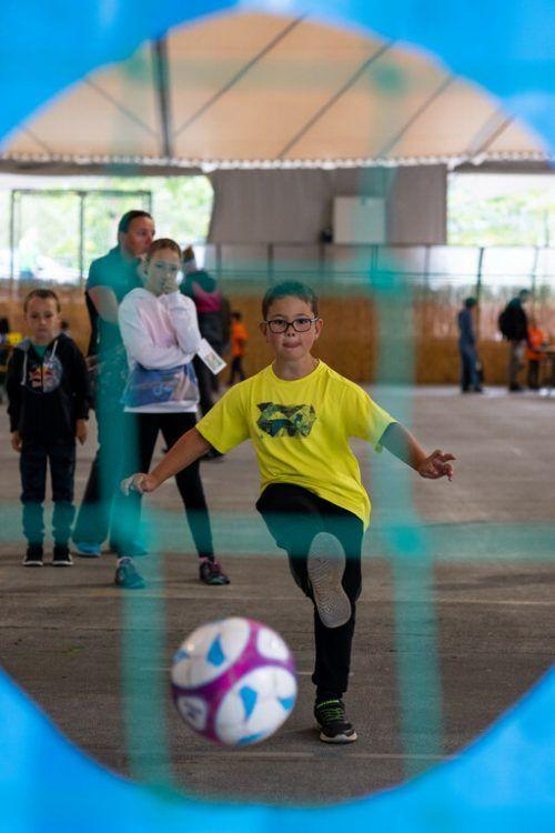 Ob Fußball, Skifahren, Volleyball oder Karate: Die Kinder konnten im Aktivpark Montafon zahlreiche Sportarten ausprobieren. Vorarlberger Sportverband