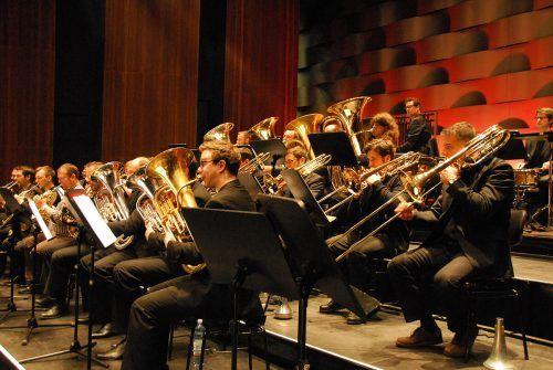 Orchester Windwerk spielt in Hirschegg und Götzis.Orchester WINDWERK
