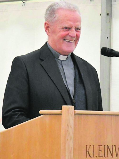 Pfarrer i. R. Konrad Natter war ein sehr belesener Mensch.