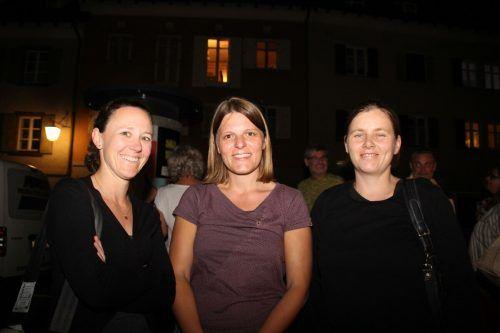 Premierengäste waren unter anderen Kathi, Melitta und Alina.