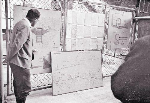 Raggal, Ausbau Lutzkraftwerk, 1966