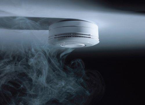 Rauchmelder erkennen Brände bereits in der Entstehungsphase. epr/Ei Electronics