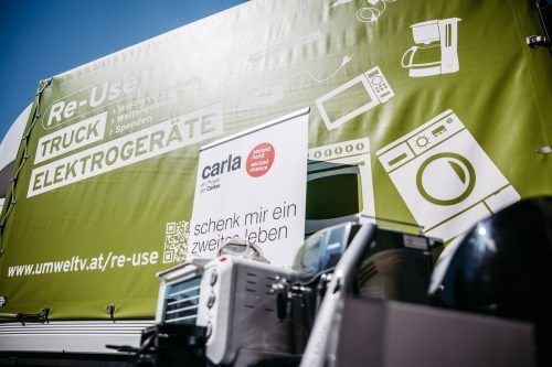 Re-Use-Truck Die Termine der Re-Use-Trucks für gebrauchte Elektrogeräte im Überblick.