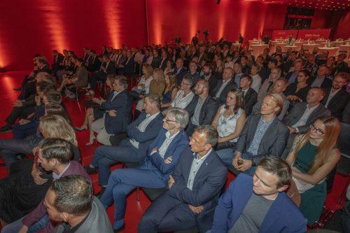 Rund 250 Gäste konnten heuer wieder den ausgezeichneten Betrieben in der Messehalle 12 gratulieren.
