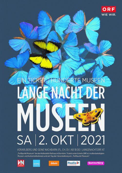 Rund 80 Museumstüren stehen bei der ORF-Langen Nacht der Museen in Vorarlberg und Umgebung offen.veranstalter