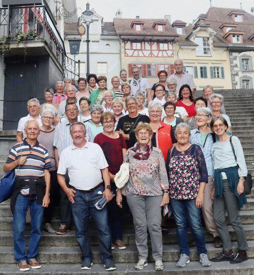 Sehr informativer und lustiger Ausflug des Kneippvereins Götzis nach Luzern und Einsiedeln.Kneippverein Götzis