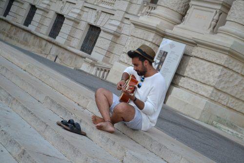 Seiner Leidenschaft zur Musik ist der Lustenauer immer treu geblieben.