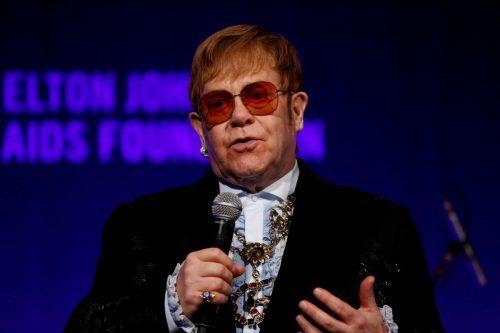 Seit 2018 ist Elton John auf seiner Abschiedstournee unterwegs. Reuters