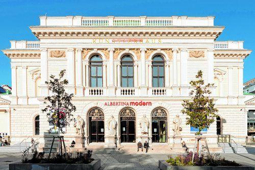 Seit März 2020 befindet sich die Albertina modern im Künstlerhaus.Shutterstock