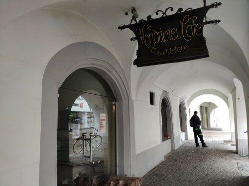Seit Mitte Mai wurde das Café Feurstein in der Feldkircher Innenstadt von der Stadtverwaltung zur Pacht ausgeschrieben. VN/MIH