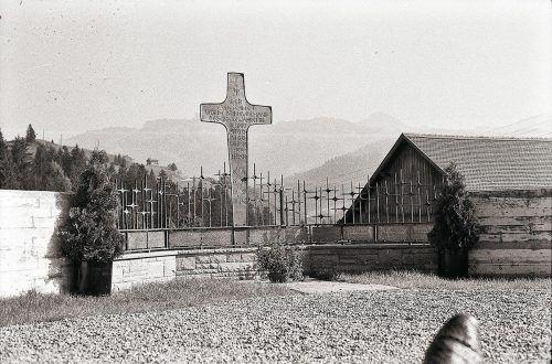 Sibratsgfäll, Kriegerdenkmal, 1969