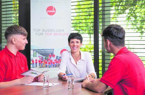 Silke Berthold leitet die Lehrlingsausbildung beim Wellpappe-Spezialisten in Frastanz.                              Weissengruber