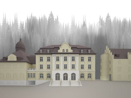 So soll die Vorarlberger Landesbibliothek in Bregenz nach der Neugestaltung im November einmal aussehen.