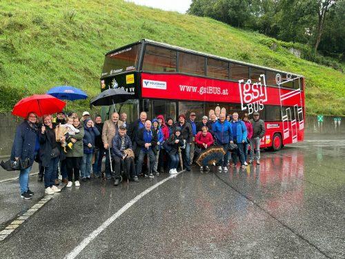 Spältabürger auf Tour durch den Bregenzerwald. Spältabürger