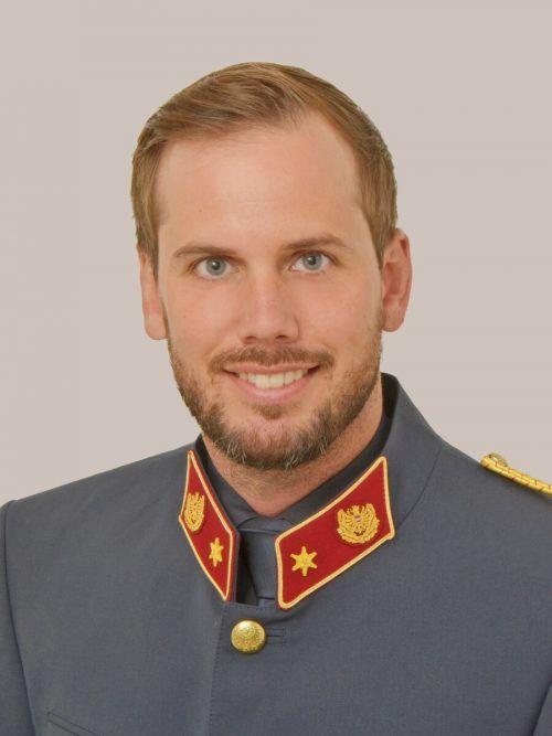 Stefan Längle verstärkt das Bezirkspolizeikommando Bludenz. polizei