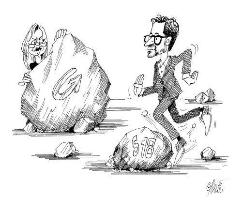 Steine auf Daniel Zadras Erfolgsstraße!